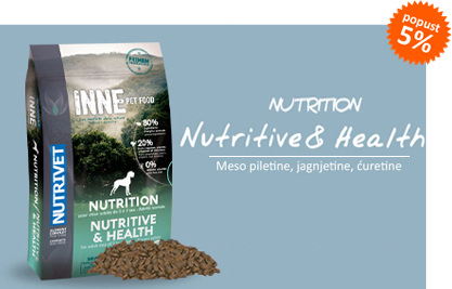 inne nutrition nutritive and health hrana za pse popust 5 posto15