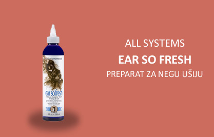 All Systems: Ear So Fresh, preparat za negu ušiju