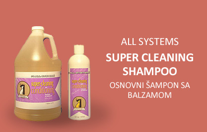 All Systems: Super Cleaning&Conditioning Shampoo - Osnovni šampon sa balzamom