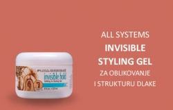 All Systems: Invisible Styling Gel, za oblikovanje i strukturu dlake