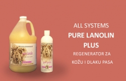 All Systems: Pure Lanolin Plus, regenerator za kožu i dlaku pasa