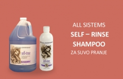 All Systems: Self – Rinse Shampoo, za suvo pranje