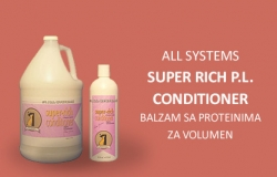 All Sistems: Super Rich P.L. Conditioner, balzam sa proteinima za volumen