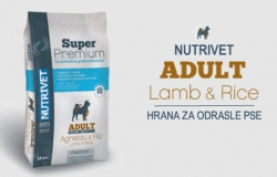 Nutrivet: Super Premium: ADULT Lamb &  Rice